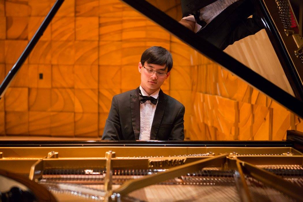 Kevin Suherman, winner of the Melbourne Recital Centre's 2016 Great Romantics Competition