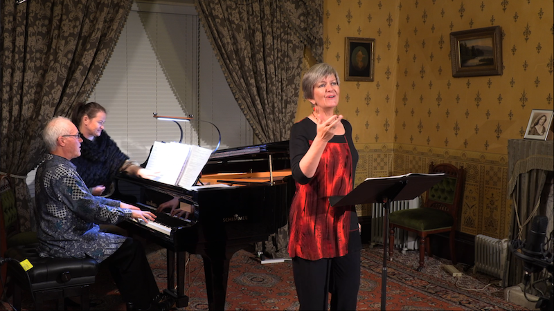 Jeannie Marsh (alto), Robert Chamberlain (piano) live-stream from Glenfern in Where the Wild Sings Are, April 2021