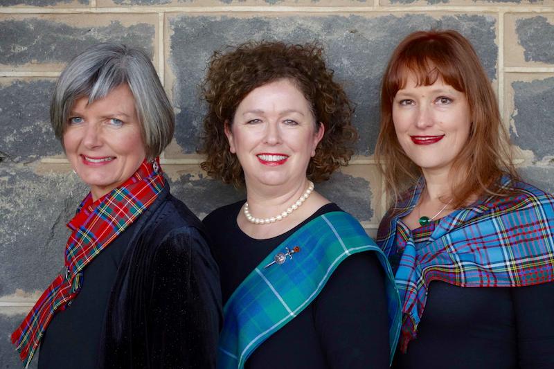Icon Trio (l-r) - Jeannie Marsh, Vivien Hamilton, Justine Anderson