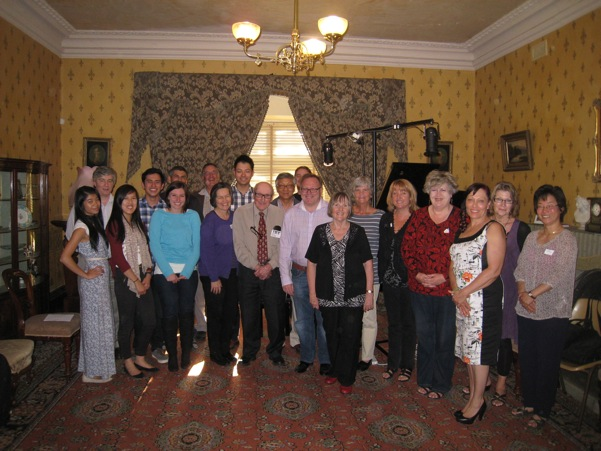 Some Autumn Piano Weekend participants and staff after the final concert and forum