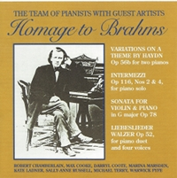 Homage to Brahms