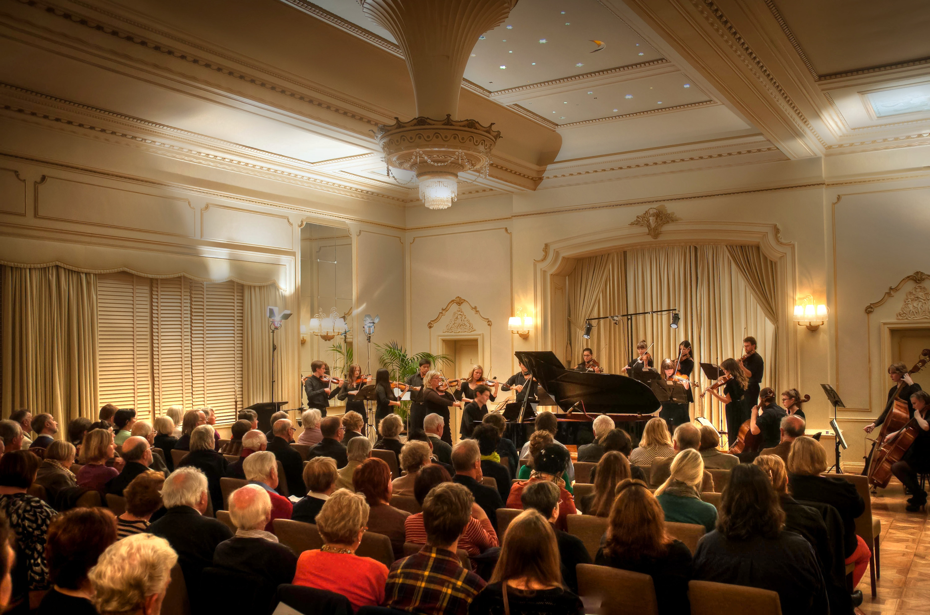 Full House – Beleura Twilight Chamber Music at Rippon Lea 2013 (Image: Toby Frost)